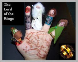 Finger Art: The Lord Of The Rings by Cathy86