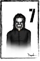 Mick- Number 7 - Slipknot by DAVEAC1117