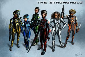 The Stronghold Team by Lalilulelo2003