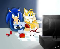 Contest Entry: Sonic the Hedgehog '06 by VagabondWolves
