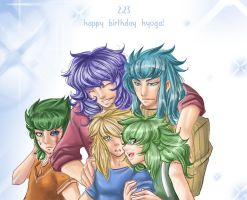 Happy birthday Hyoga by kamapon