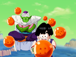 Gohan and Piccolo by itzi95