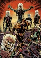 Mars Attacks... Judge Dredd by Simon-Williams-Art