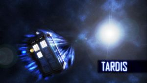 TARDIS Wallpaper by Praclarush