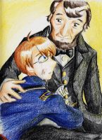 APH_America and Lincoln by LordCavendish