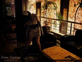 Fukuro Nurse - Silent Hill 3 -  The Wait by IreneUbik