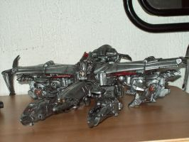 Megatron 5 movie 2007 repaint by Argahal
