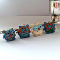 Owl Collection (2) by zanglesaccessories