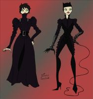 Haute Couture Catwoman by rickytherockstar