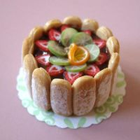 Fruit Charlotte Cake by PetitPlat