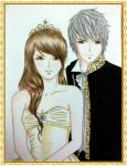 The Royal Couple by yessy04maple
