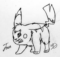 Jace the Pikachu by Whooshie-Duck