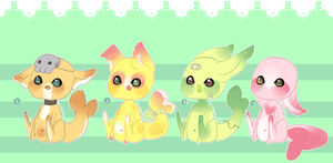 Gummi Shark Puppies 1 .:Closed:. by Pieology
