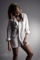 White shirt by Stridsberg