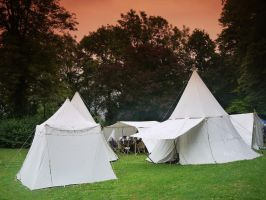 Medieval Tents 2 by Dragoroth-stock