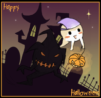 happy halloween by myaen