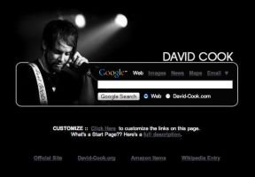 David Cook Startpage by AwesomeStart