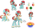 Sunset Whisper Reference Sheet by TaylortheSnailor