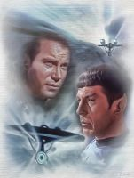TOS Spock and Kirk by Eilidh17