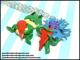 Froggy/Flower Love Set by GrandmaThunderpants