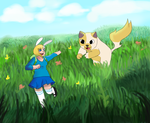 Running in the spring by annabell22