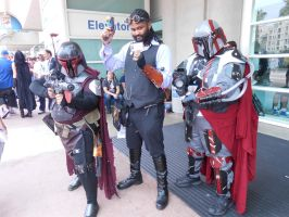 Lord Blackwater w/ some fellow Bounty Hunters by pa68