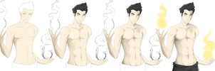 Mako : step by step drawing process by NipahCos