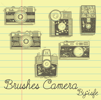 Camera Brushes by isfe by Isfe