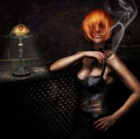 Smoking by Notvitruvian
