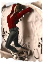 Ada Wong Facehugged (NOT MY WORK) by 88RAven
