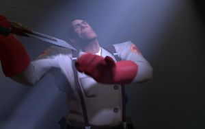 Team Fortress 2 Medic Wallpaper by DUNKMOVIES