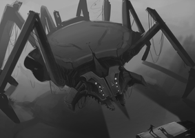 MechSpider by Rithinor
