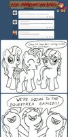 Ask Manehattan Babs #11 by wildtiel