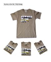 SUMMER IN THE CITY T-Shirt by Shozen