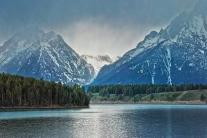 The Grand Tetons 2 by RichardNohs