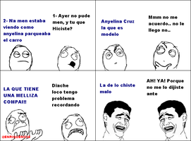 Meme Comics Dedicado para Anyelina Cruz by EnriqueNg