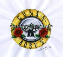 Guns N Roses Original Emblem by crislink