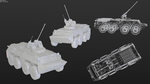 BTR-80 AA with wire by betasector