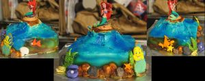 Ariel Cake by Dantes5thCircle