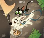 50 Chibis Disney : Bolt by princekido