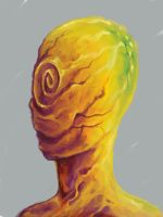 Portrait of no one by ouzeland