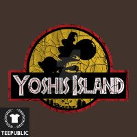 Yoshi's Island Graphic Tee Design by JRLunaArt
