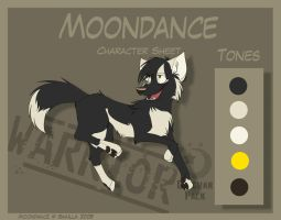 Moondance - Character Sheet by Skailla