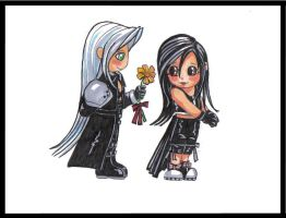 sephy x tifa by mytiko-chan-is-back