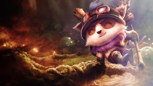 League Of Legends : Teemo Wallpaper by iamsointense