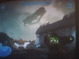 Playing Halo 5: Corvette Spaceship!!! by Dragonrage19