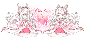 -Doreima Adopt{Closed}Valentine's Dove by Naitei