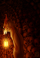 Catacomb by CanisAlbus