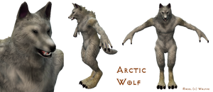 OverGrowth - Arctic Wolf by Some-Art