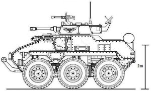 Hussar 6x6 Scout Vehicle by 2kuhl4you